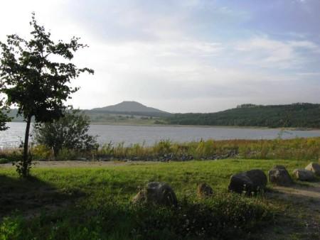 Berzdorfer See.